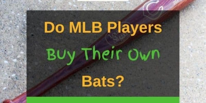 Do MLB Players Buy Their Own Bats? (Solved)