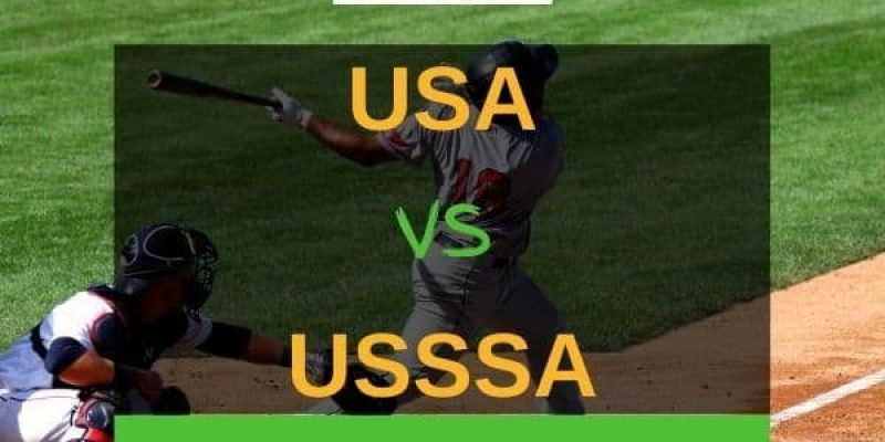 USA vs USSSA Bats – What Are The Differences?